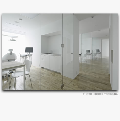 AKARI DENTAL CLINIC | Interior | Works | Soichiro Yagi ...